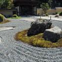 枯山水の石庭「清閑庭」