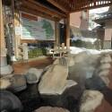城崎温泉元湯横の足湯
