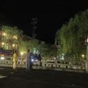 夜の地蔵湯橋