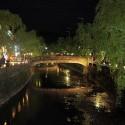 湯流れ万灯 愛宕橋