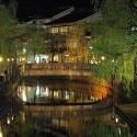 太鼓橋の夜景