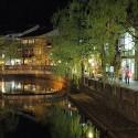 夜の桃島橋周辺