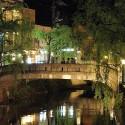愛宕橋のライトアップ