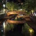 夜の太鼓橋