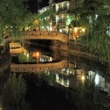柳湯橋と柳並木 その2