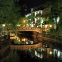 夜の柳湯橋