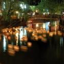 城崎温泉の灯篭流し