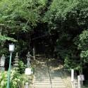 温泉寺参道 登り口