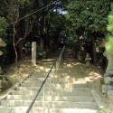 温泉寺参道 最初の階段