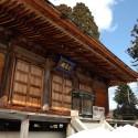 温泉寺本堂の雪景色