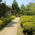 城崎美術館前庭