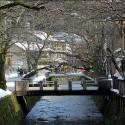 大谿川上流の雪景色