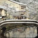雪の柳湯橋