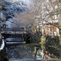 木屋町通りの雪景色